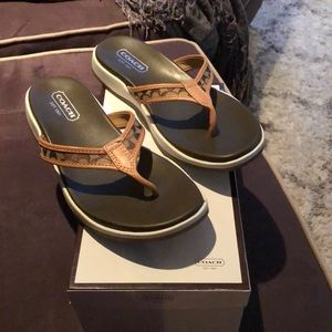 Coach Shoes - Authentic Coach sandals